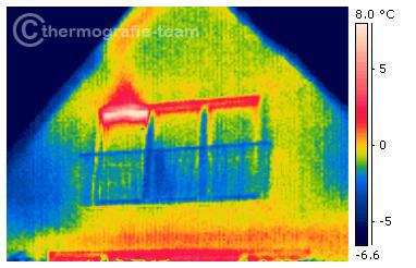 Beispielhafte thermografien von fenstern dachfenstern und - Fenster auf kipp ...